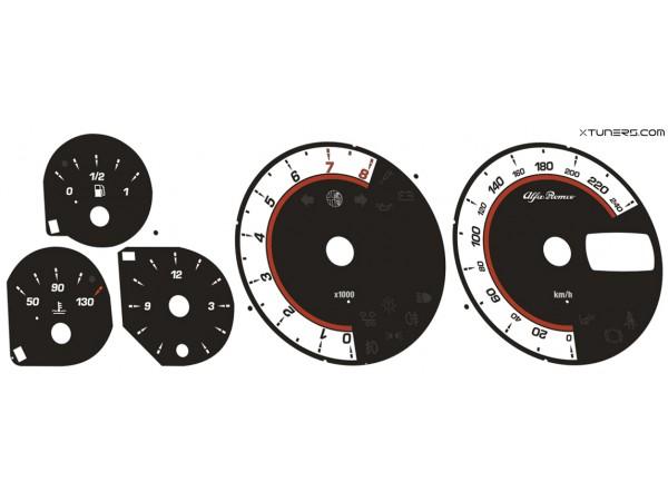 Alfa Romeo 156 dials