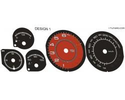 Alfa Romeo GTV Spider dials