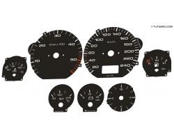 Audi type 4A A6 (1994–1997) dials