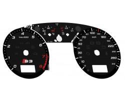 Audi A3 S3 Typ 8L dials