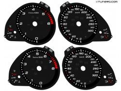 Audi A5 8L , A4 B8 8K dials