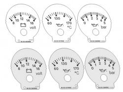 Audi 80 B4, 90 S2, RS2 VDO instruments dials