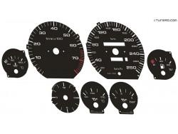 Audi 100 C4 2.8L V6 dials