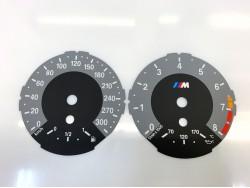 BMW E82 1M Coupe dials