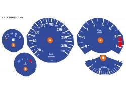 BMW 7-Series E32 Alpina dials