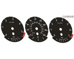 BMW 5-Series E60 E61, 6-Series E63 E64, X5 X6 E70 E71 E72 M Power design dials