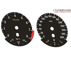 BMW 3-Series E92 Coupe - M Power design dials