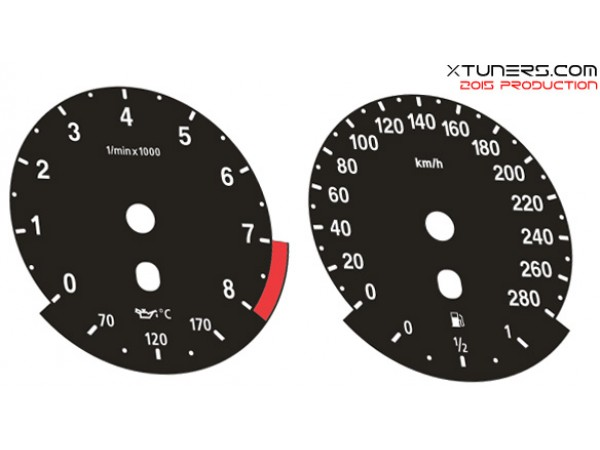 BMW 3-Series E92 Coupe - M Power design dials