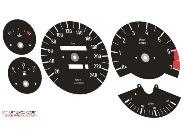 BMW 3-Series E30 dials