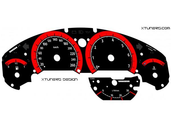 BMW 3-Series E36 M Power design dials