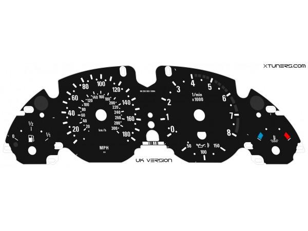 BMW 5-Series E39 M5 dials