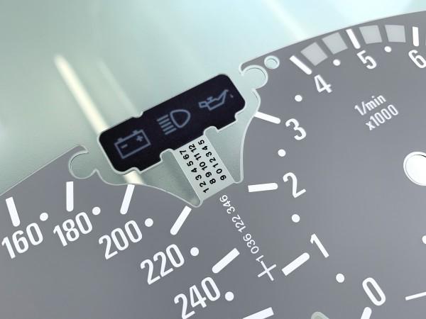 BMW 3-Series E46 M3 300 km/h dials