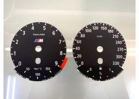 BMW 5-Series E60 E61 M5, 6-Series E63 E64 M6 dials