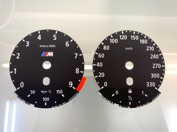 BMW M5 E60, M6 E63 E64 dials