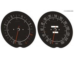 Chevrolet Corvette C3 Stingray dials