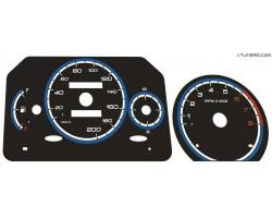 Fiat Seicento Abarth dials