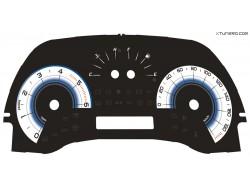 Fiat Punto 188 JTD, HGT dials