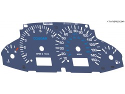 Ford Cougar dials
