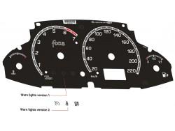 Ford Focus MK1 dials