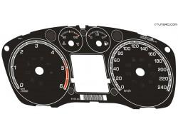 Ford Focus MK2 ST225, TDCI, Duratec gasoline dials
