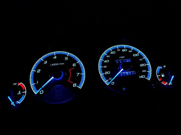 Honda Accord V CD US Coupe plasma dials