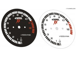 Honda CBR 1100 XX Blackbird 2001-2003 dials