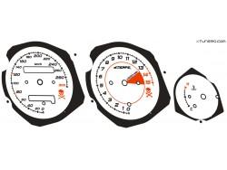 Honda CBR 600 F3 dials
