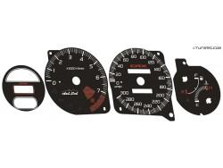 Honda CR-X Del Sol dials