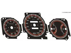 Honda Civic 6th gen 96-01 dials