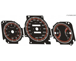 Honda Civic 6th gen 96-01 dials