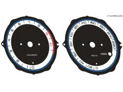 Honda XL 1000V dials