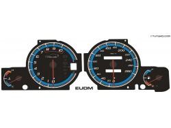Honda Prelude 5th gen BB5-6-7-8-9 dials
