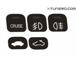 Honda Prelude 5th gen BB5-6-7-8-9 buttons set