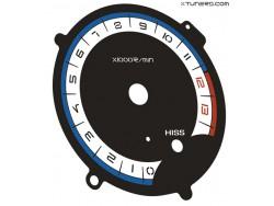 Honda VFR 800 Interceptor 2002-2005 dials