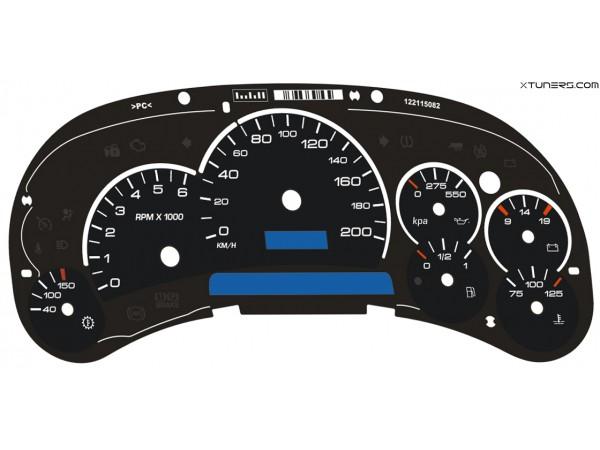 Hummer H2 dials