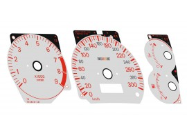 Mitsubishi Lancer EVOLUTION 4 CN9A, 5-6 CP9A - Ralliart OEM Replica dials