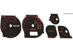 Mitsubishi Lancer EVOLUTION 7 8 9 CT9A UK Ralliart dials + LED upgrade kit