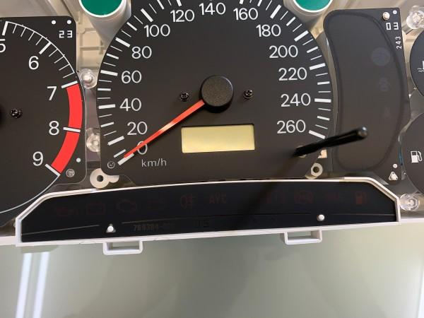 Mitsubishi Lancer EVOLUTION 4 CN9A, 5-6 CP9A warning lights foil