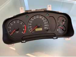 Mitsubishi Lancer EVO 5-6 RS2 260 km/h gauge cluster