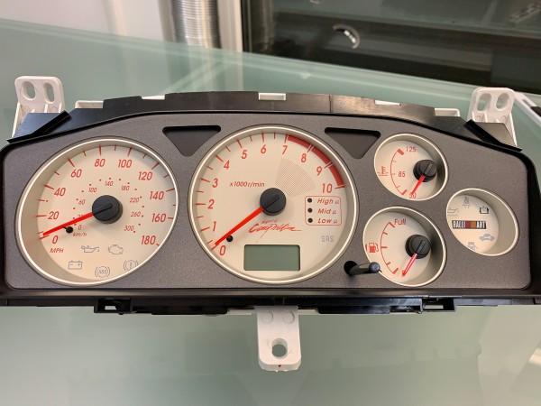 Mitsubishi Lancer EVO 7 8 9 CT9A 180 MPH Ralliart S3 design dials + LED upgrade kit