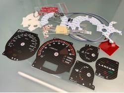 Mitsubishi Lancer EVO 7 8 9 carbon dials + LED upgrade kit