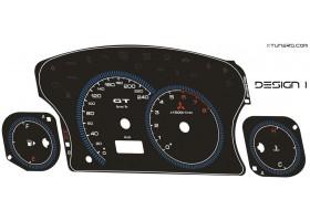 Mitsubishi Eclipse 3G RS GS GT GTS Spyder dials