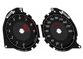Mitsubishi Lancer EVOLUTION X 08-16 GSR, MR, SE, RS, Ralliart dials