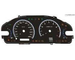 Mitsubishi Galant 8th gen HC plasma dials