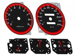 Mitsubishi Eclipse 2G ( DSM ) RS GS Spyder GS-T GSX dials