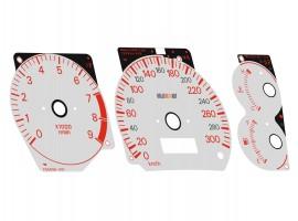 Mitsubishi Lancer EVOLUTION 4 CN9A, 5-6 CP9A - Ralliart OEM Replica dials
