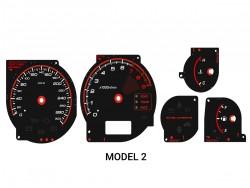 Mitsubishi Lancer EVOLUTION 7 8 9 CT9A Xtuners Edition + LED upgrade kit