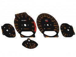 Nissan Skyline GT-R R34 NISMO design black dials