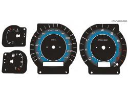 Nissan Primera P11, Infiniti G20 dials