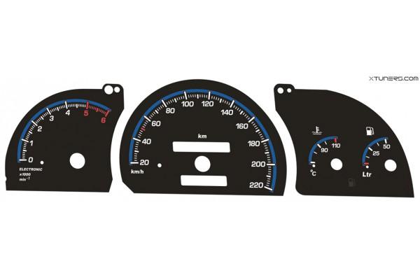 Opel | Vauxhall Astra F, Vectra A, Calibra dials